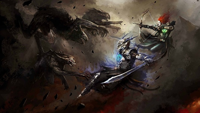 Dark Fantasy Art Theme For Windows 7