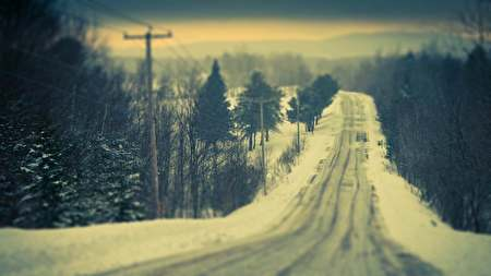 Snowy Roads themes